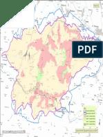 Mapa Slovenského raja