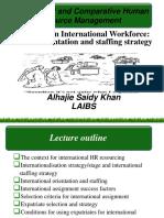 International Staffing Strategies