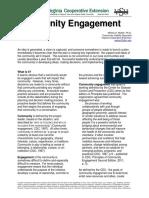 Community Engagement Handout