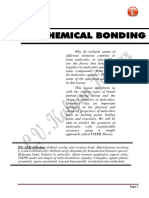 Chemical Bonding-Notes