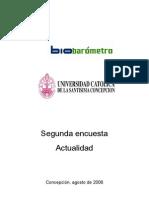 Biombarómetro - Segunda encuesta de Actualidad 2006