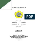 makalah  reaktor dan kolom distilasi