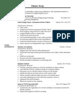 bae resume
