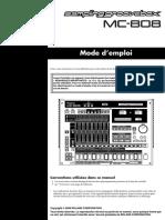 Mode Emploi Roland_mc-808