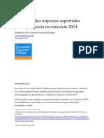 Estimação dos impostos suportados polos/as galegos/as no ano 2014 .PDF