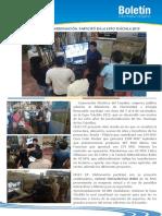 Boletín Informativo Interno - Celec Hidronacion Participó Expo Tsáchila 2015