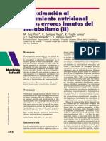 APROXIMACION AL TRAT  NUTRICIONAL DE LOS EIM II