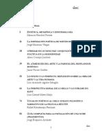 Revista Piezas 3 (Filosofía, Arte y Belleza)