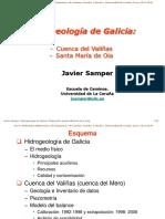 28 Octubre 2013 Hidrologia Subterrranea ICCP Hidrogeologia de Galicia 2013-2014