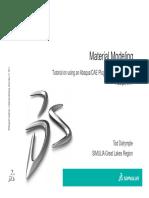 Material Modeling FeFp Plugin