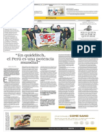 Quidditch en el Perú (Entrevista a Williams Rojas - FPQ)