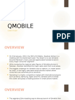 Qmobile Pakistan - Case Study