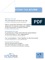 French Corporation Tax Review n°5