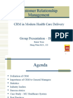 crm in service sector