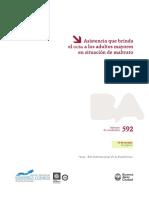 GCABA (DGEyC) - Asistencia Que Brinda El Gcba a Los Adultos Mayores en Situación de Maltrato (2013)