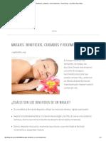 Masajes_ Beneficios, Cuidados y Recomendaciones - Deva's Blog - Cosmética Ayurvédica