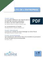 Revue Fiscalite Entreprise n4