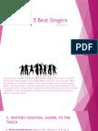 top 5 best singers