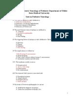 Tests in Pediatric Neurology(2)