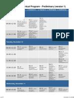ISAP2015 Technical Program Preliminary v1
