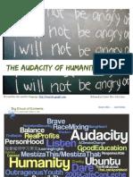 The Audacity of Humanity Ebook