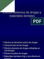 Drogas y Materiales Dentales