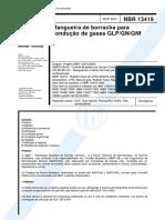 NBR 13419 - Mangueira de Borracha Para Conducao de Gases GLP GN GNf