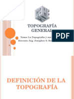 1. Topografía General (2014)