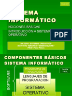 INTRODUCCION SISTEMA INFORMATICO - 2010