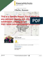 Sample Market Activity Report
