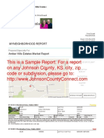 Sample MyNeighborhood Report