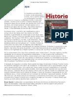 A Imagem Da Capa - Revista de História