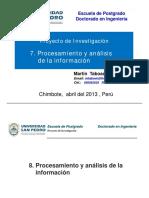8. Procesamiento y Analisis de La Información.ppt [Modo de Compatibilidad]