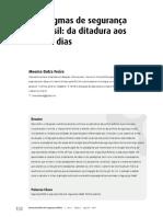 Paradigmas da Segurança Pública no Brasil
