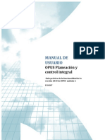 Manual Opus P Control