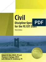 FE- Civil Practice Problems