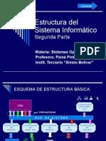Estructura del Sistema Informático - Segunda Parte