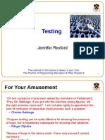 Testing in C