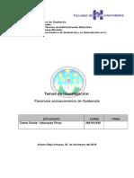 socieconomia guatemalteca