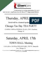 Ratowitz for Congress April Flyer