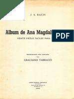 291326535 J S BACH Album de Ana Magdalena Bach(guitarra)