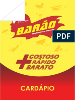 Cardápio Barão
