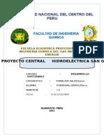 Proyecto Central Hidroeléctrica San Gabán