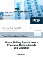 Pjm Phase Shifting Transformer Principles