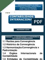 Contab Internacional Unid 1 - Contab e Converg Normas Internacionais