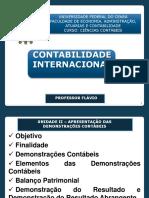 Contab Internacional Unid 2 PARTE 1 - Apresentação Das DCs - BP e DR