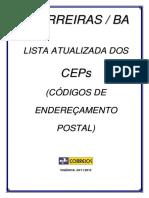 CEP - Barreiras