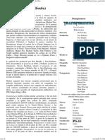 Transformers (Película) - Wikipedia, La Enciclopedia Libre