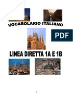 Vocabolario Linea Diretta 1a e 1b