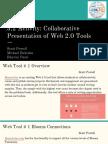 3 2 activity- collaborative presentation of web 2 0 tools